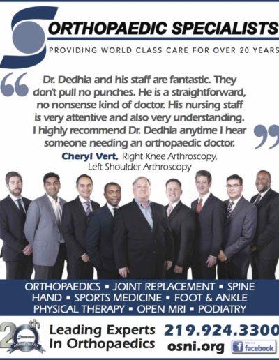 Testimonial for Dr. Dedhia