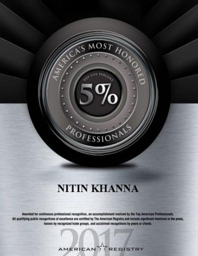 Dr. Nitin Khanna