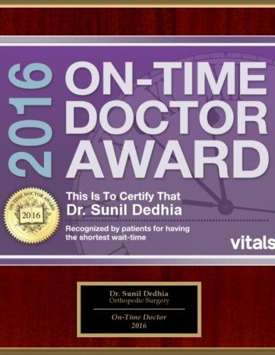 Dr. Sunil Dedhia